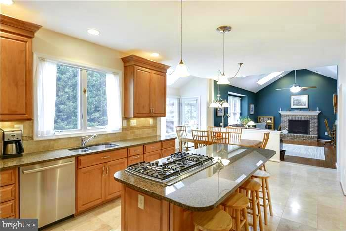 Open Floorplan - 1340 DASHER LN, RESTON