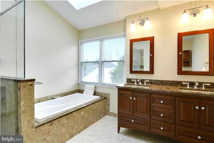 Remodeled Master Bathroom - 1340 DASHER LN, RESTON
