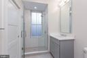 Unit 1: Bathroom - 3012 Q ST NW, WASHINGTON