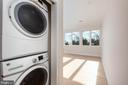 Unit 2: Stacked Washer and Dryer - 3012 Q ST NW, WASHINGTON