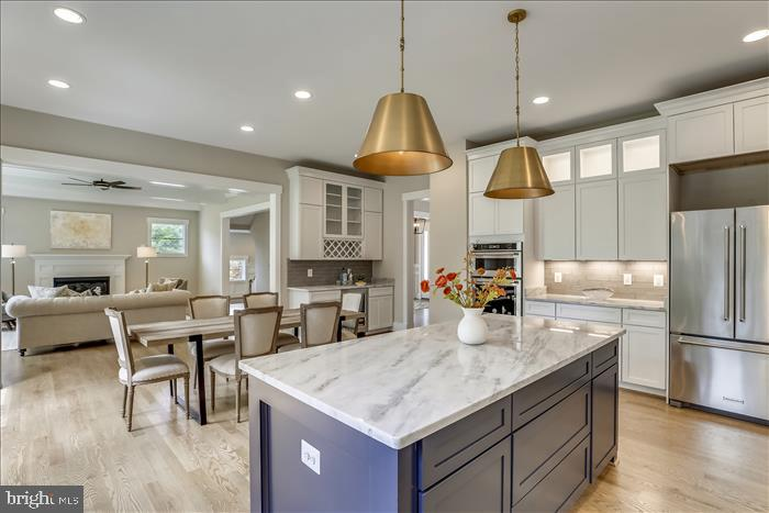 Builder's previously completed home - Kitchen - 2103 GREENWICH ST, FALLS CHURCH