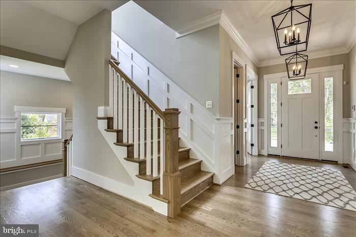 Builder's previously completed home - Entry - 2103 GREENWICH ST, FALLS CHURCH