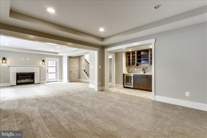 Builder's previously completed home~- Basement - 2103 GREENWICH ST, FALLS CHURCH
