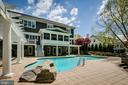 Looking forward to summer from the pool deck. - 11134 STEPHALEE LN, NORTH BETHESDA