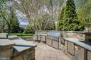 With a huge built in gas grill and bar area. - 11134 STEPHALEE LN, NORTH BETHESDA