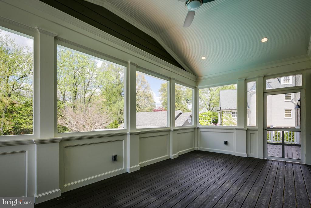 Enjoy the outdoors from the screened porch... - 11134 STEPHALEE LN, NORTH BETHESDA