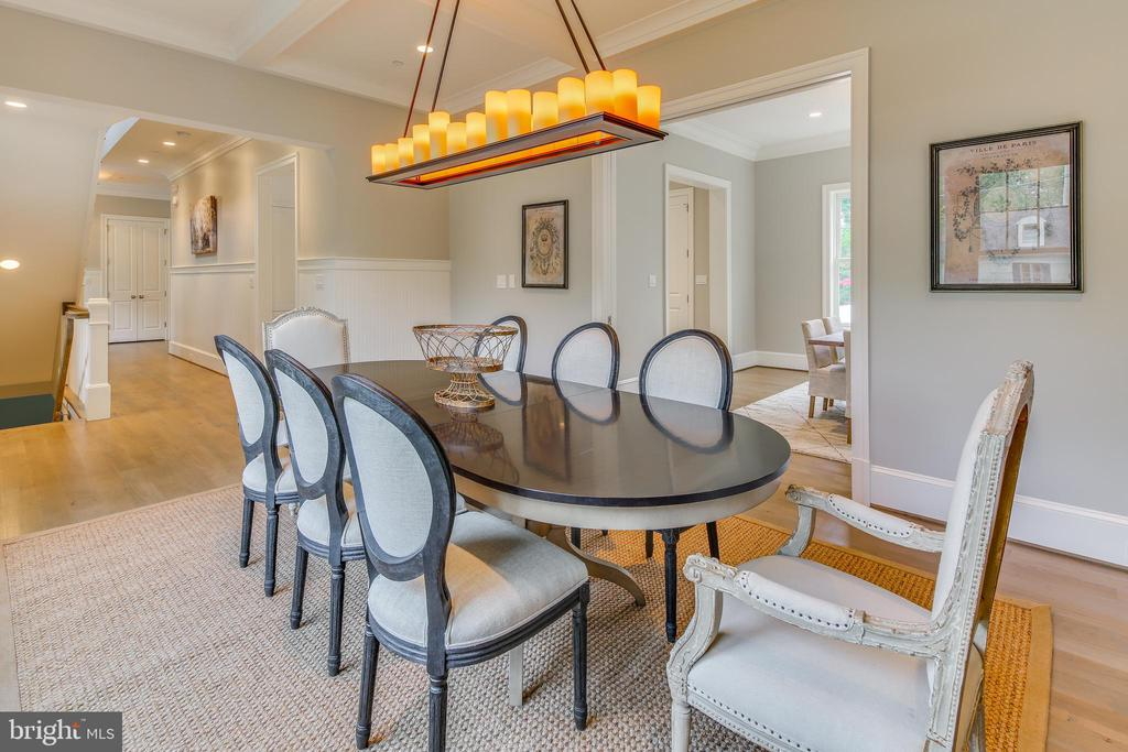 and to the other side, the formal dining room. - 11134 STEPHALEE LN, NORTH BETHESDA