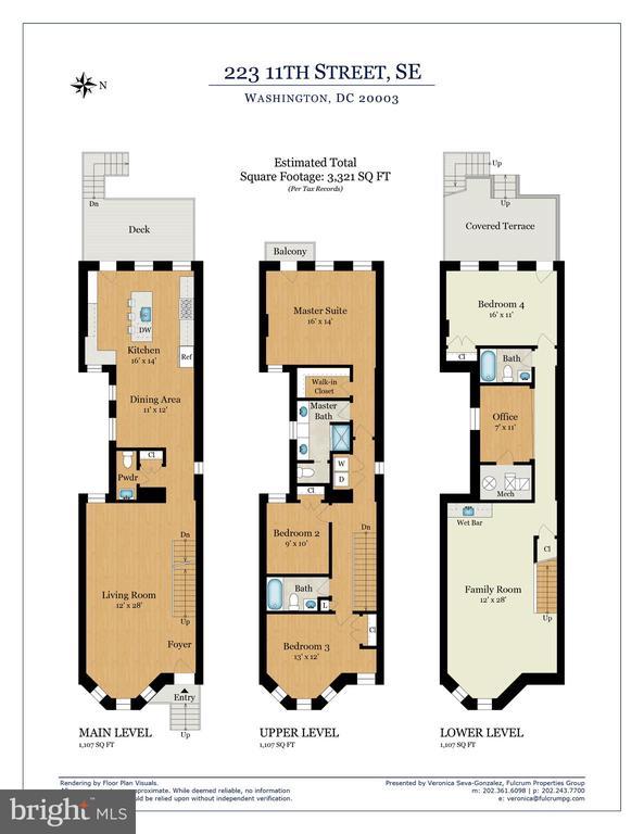 Floor plan - 223 11TH ST SE, WASHINGTON