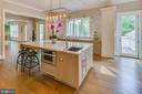 And seating for six at the island... - 11134 STEPHALEE LN, NORTH BETHESDA