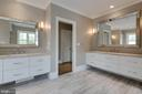 And dual vanities with lots of drawers. - 11134 STEPHALEE LN, NORTH BETHESDA
