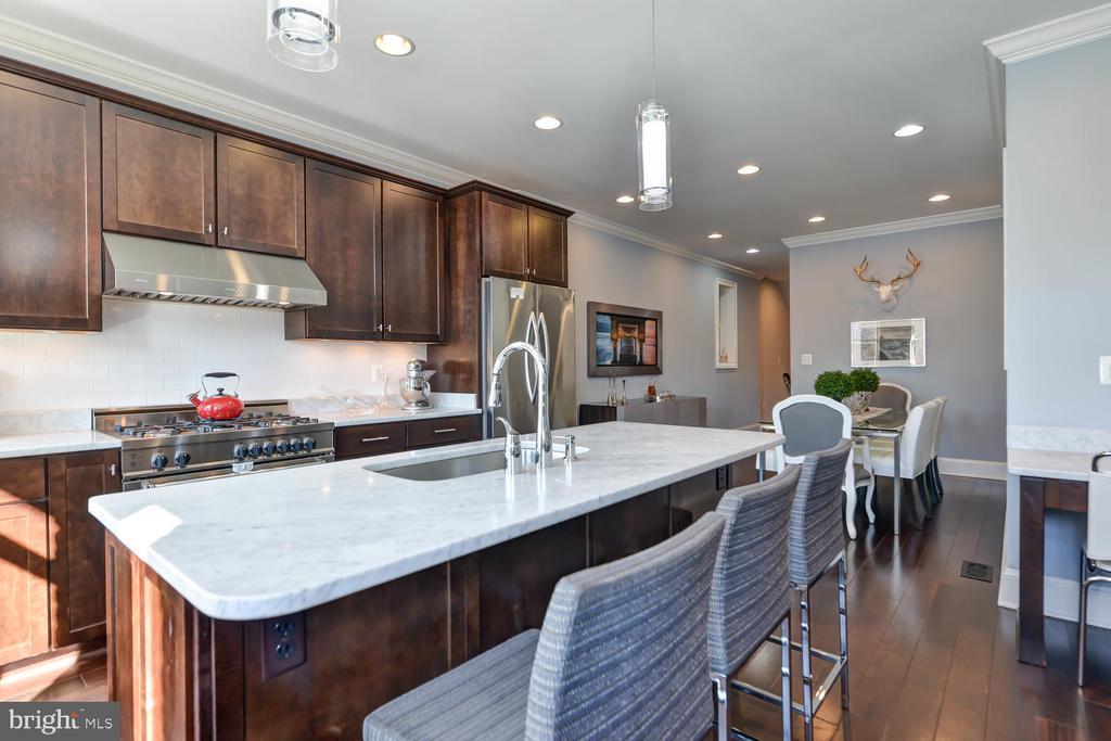 Gourmet kitchen - 223 11TH ST SE, WASHINGTON
