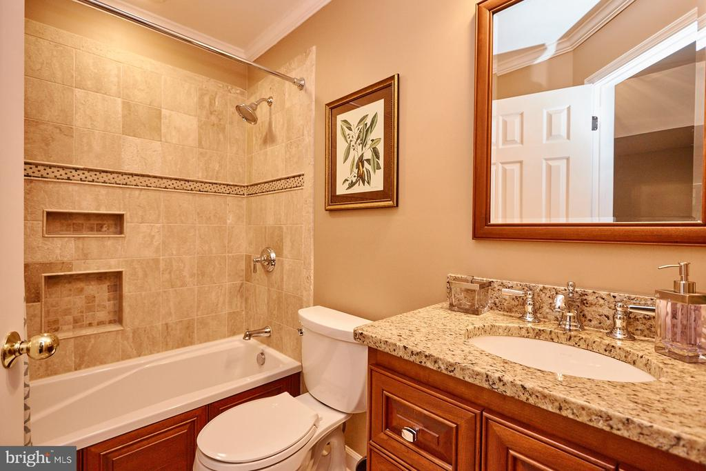 Beautifully Remodeled Hall Bath - 8831 EAGLE ROCK LN, SPRINGFIELD
