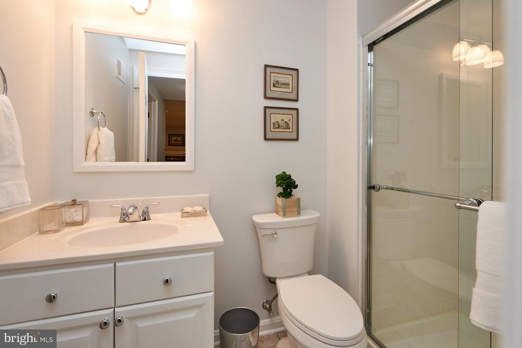 Lower Level Full Bath - 8831 EAGLE ROCK LN, SPRINGFIELD