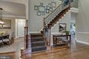 Stairs to loft and third bedroom. - 44629 GRANITE RUN TER, ASHBURN