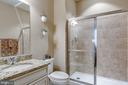 Second full bathroom on main level. - 44629 GRANITE RUN TER, ASHBURN