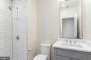 Unit A: Bathroom - 3012 Q ST NW, WASHINGTON
