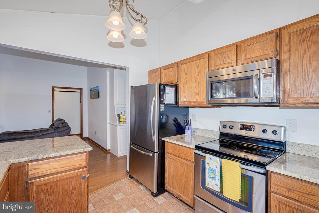 Stainless Appliances - 217 MEADOWVIEW LN, LOCUST GROVE