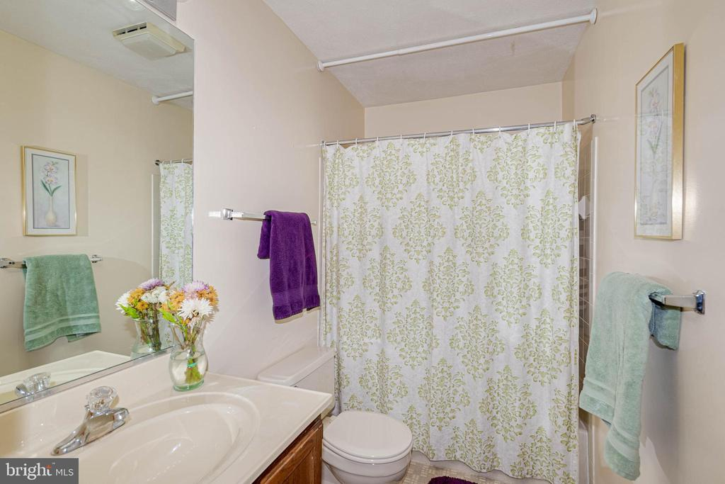 Full Guest Bathroom - 217 MEADOWVIEW LN, LOCUST GROVE