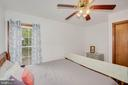Bedroom 2 Hardwood Floors - 217 MEADOWVIEW LN, LOCUST GROVE
