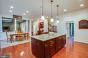 Gourmet kitchen - 6 SCARLET FLAX CT, STAFFORD