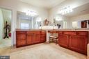Luxury master bathroom - 6 SCARLET FLAX CT, STAFFORD