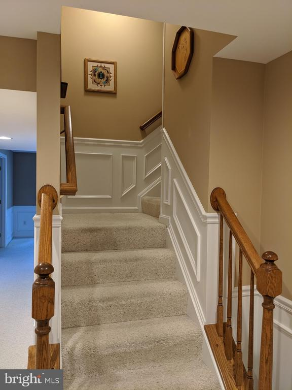 Stairs from lower level - 6624 RISING WAVES WAY, COLUMBIA