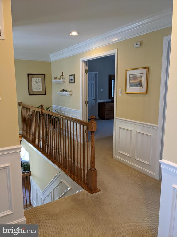 Upstairs hallway leading to MBR - 6624 RISING WAVES WAY, COLUMBIA