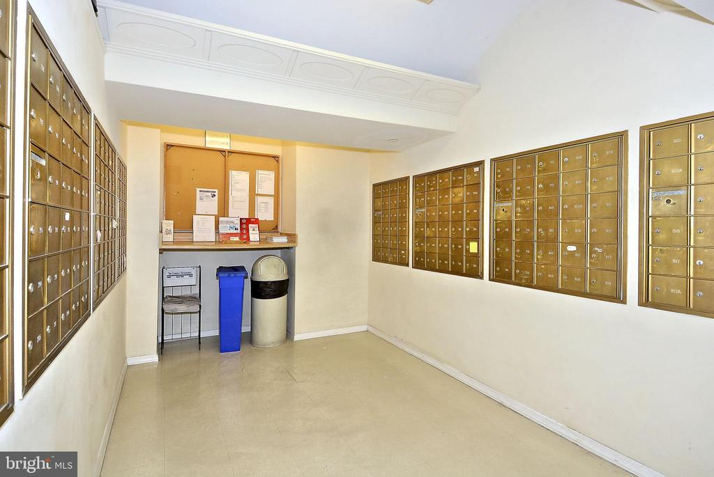 Mail Room - 3601 CONNECTICUT AVE NW #700B, WASHINGTON
