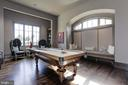 Billiard Room - 9005 CONGRESSIONAL CT, POTOMAC