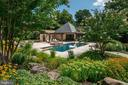 Swimming Pool/Pool House - 9005 CONGRESSIONAL CT, POTOMAC
