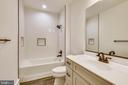 Lower level full bathroom - 637 JEFFERSON ST, HERNDON