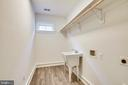 Upper level Laundry room area - 637 JEFFERSON ST, HERNDON
