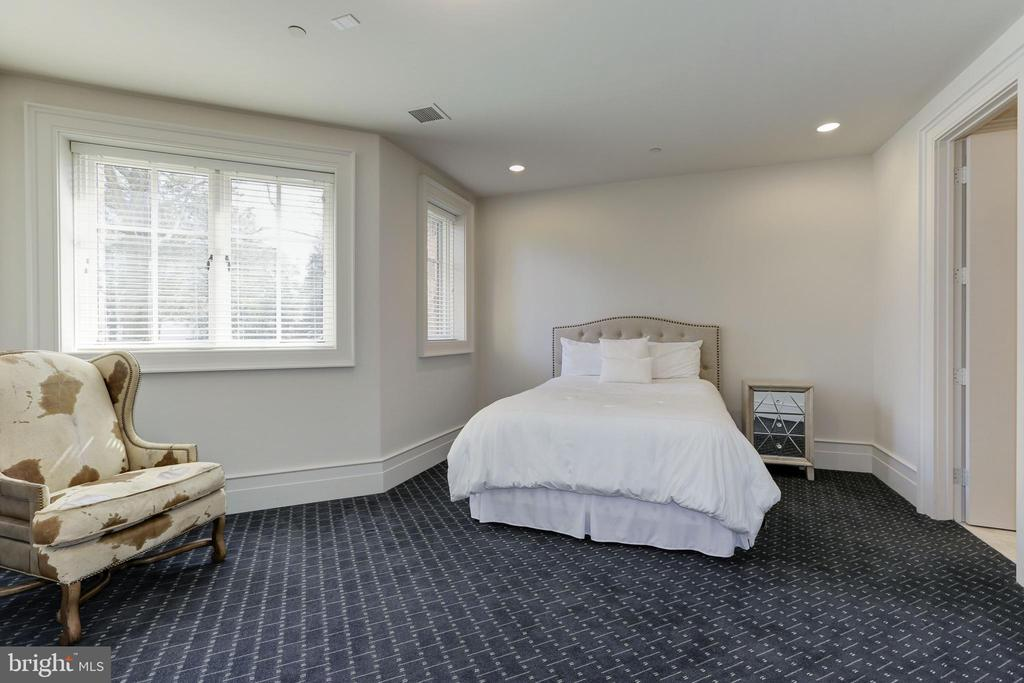 Lower Level Guest bedroom - 9005 CONGRESSIONAL CT, POTOMAC