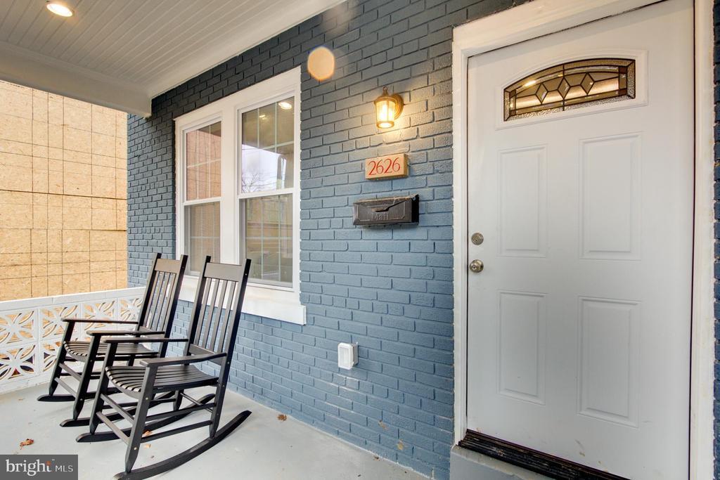 Front porch - 2626 4TH ST NE, WASHINGTON