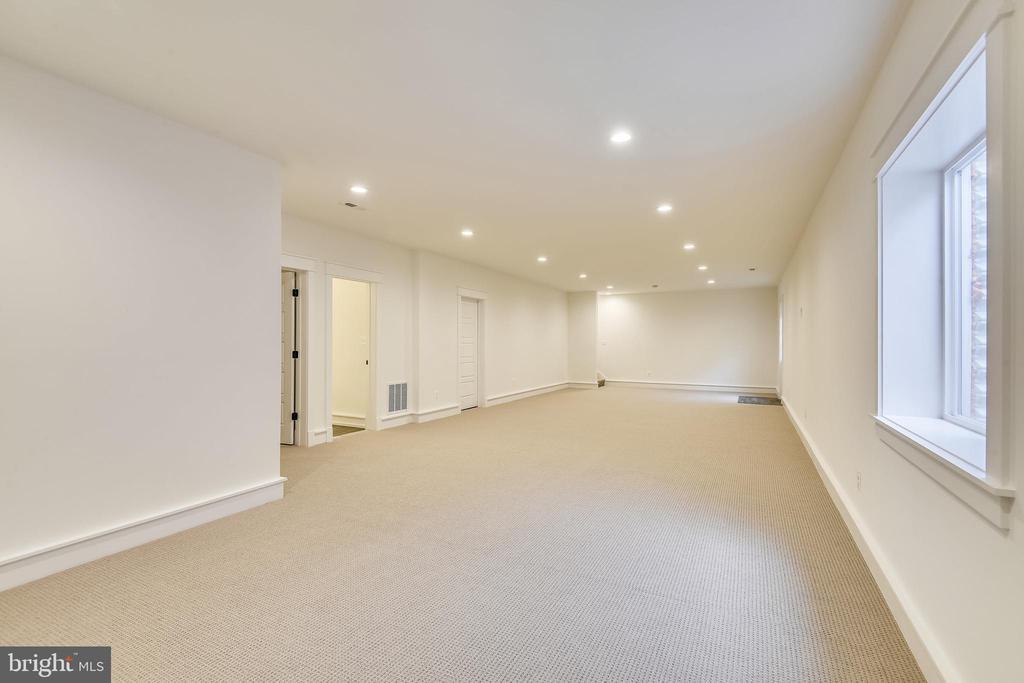 Finished  walk-up level  basement - 0 JEFFERSON ST, HERNDON
