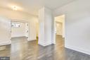 Main level parlor/foyer - 0 JEFFERSON ST, HERNDON