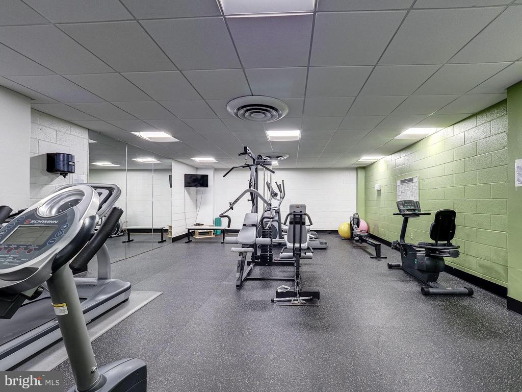 Fitness Room - 4242 EAST WEST HWY #901, CHEVY CHASE