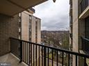 Balcony - 4242 EAST WEST HWY #901, CHEVY CHASE