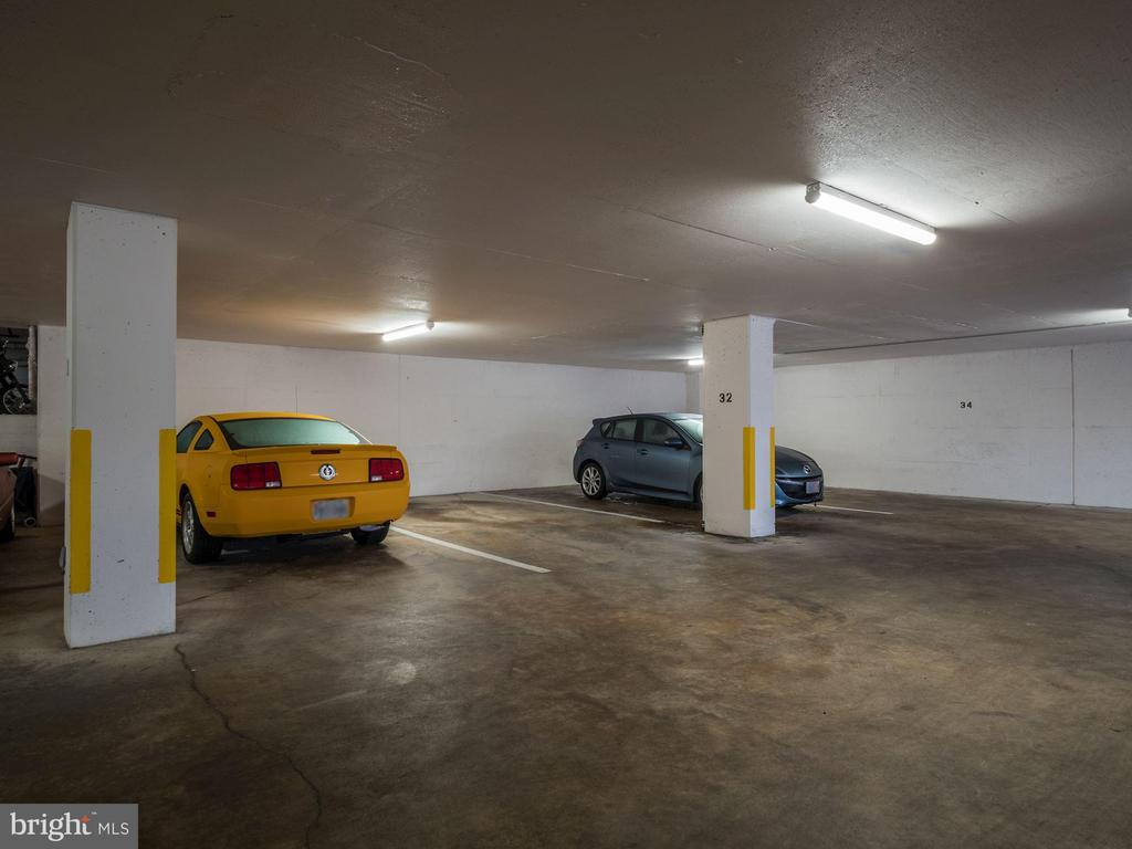 Dedicated underground parking space - 4242 EAST WEST HWY #901, CHEVY CHASE