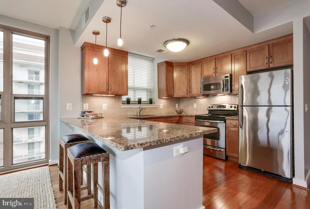 Gourmet kitchen - 888 N QUINCY ST #1701, ARLINGTON