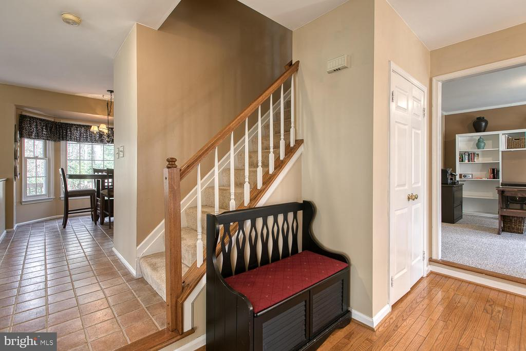 Multiple views from foyer - 3220 TITANIC DR, STAFFORD