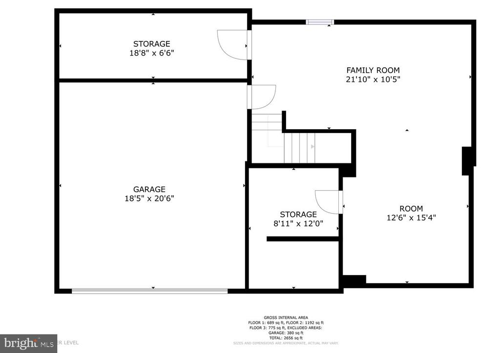 Lower level floor plan - 3220 TITANIC DR, STAFFORD