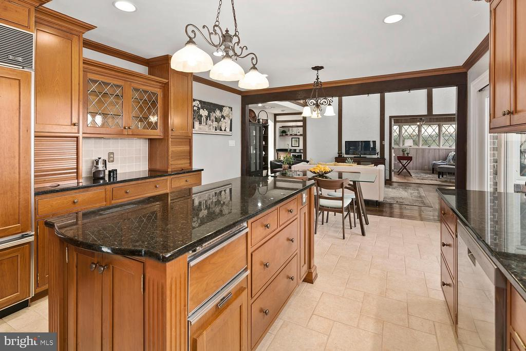 Chef's kitchen with induction stove - 2821 N QUEBEC ST, ARLINGTON