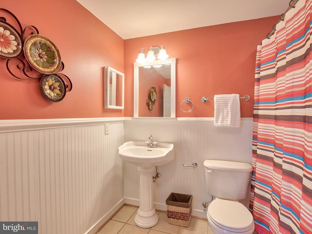 3rd full bath in lower level. - 17244 RAVEN ROCKS RD, BLUEMONT