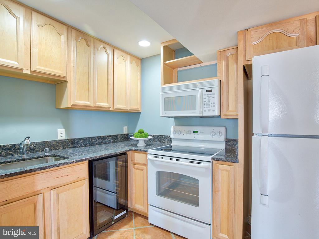 Full Kitchen for in-law suite. - 17244 RAVEN ROCKS RD, BLUEMONT