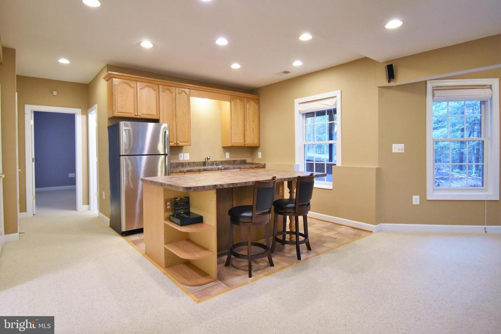 Second kitchen area in lower level - 1590 MONTMORENCY DR, VIENNA