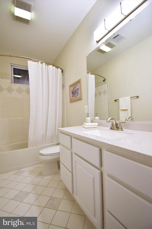 Lower Level full bathroom - 1590 MONTMORENCY DR, VIENNA