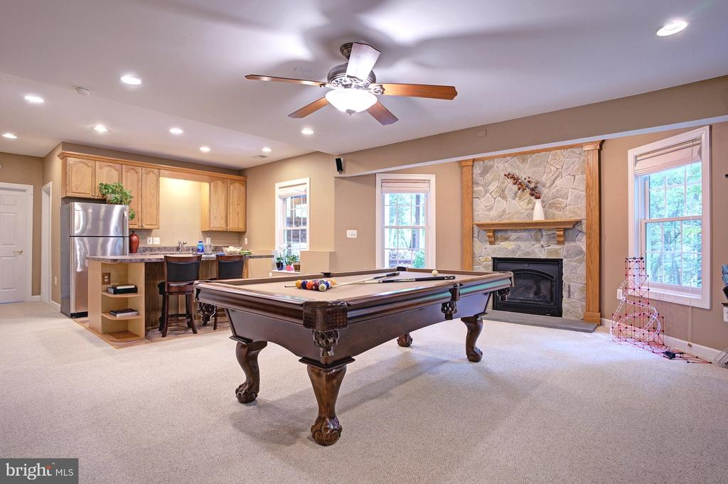 Spacious walkout lower level w/second kitchen area - 1590 MONTMORENCY DR, VIENNA