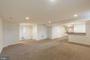 Large recreation room - 17156 BELLE ISLE DR, DUMFRIES