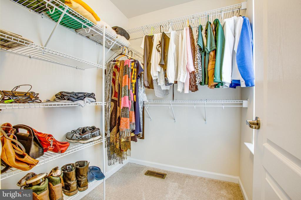 Large walk-in closet - 120 TREE LINE DR, FREDERICKSBURG